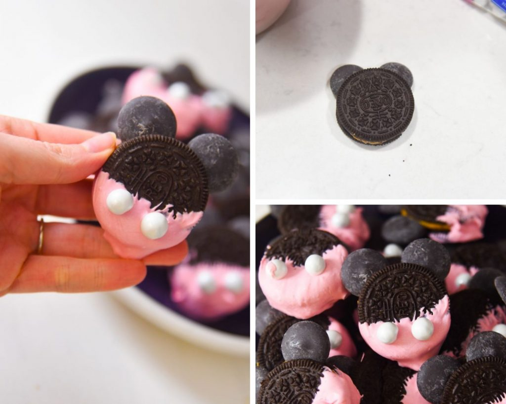 how to make dipped micke cookies