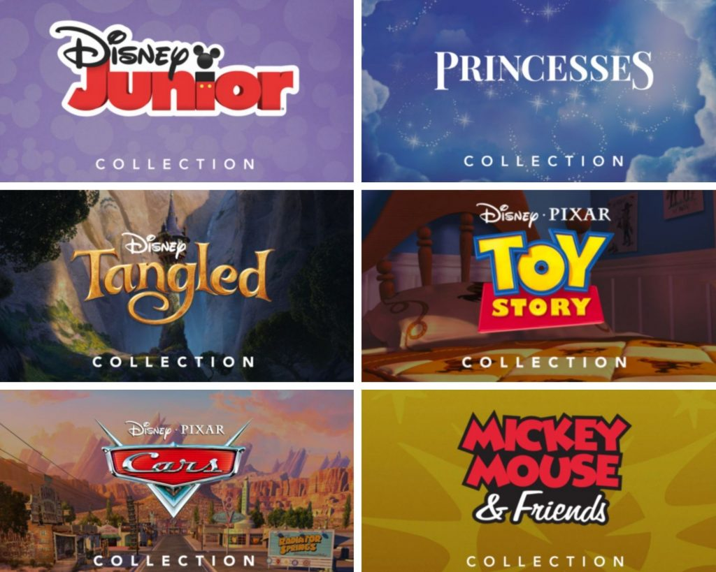 disney+ collections