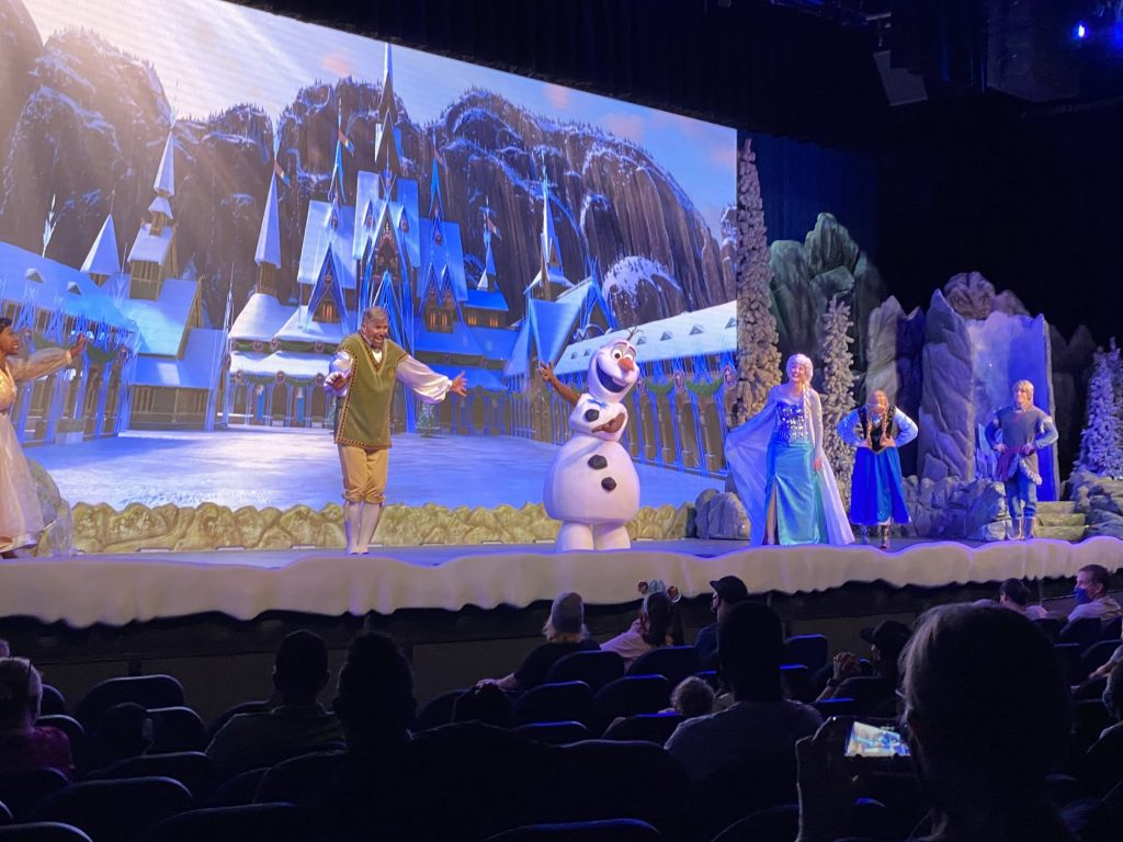 frozen ever after sing a long