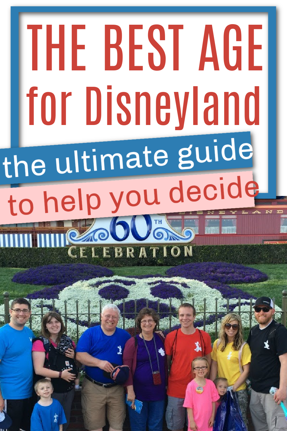 the best age for disneyland