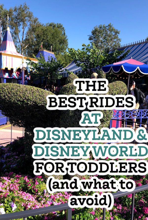 best rides for toddlers at Disney World